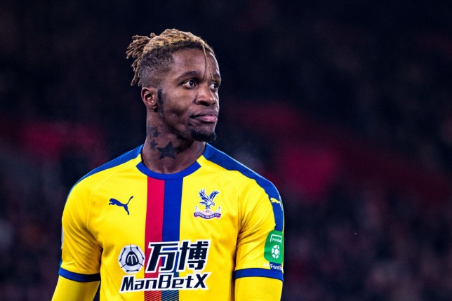 Arsenal have failed with two bids for Crystal Palace attacker Wilfried Zaha