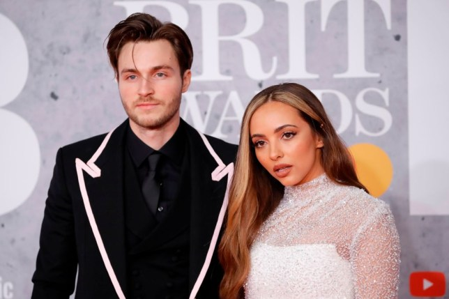 Jed Elliott and Jade Thirlwall at the Brits