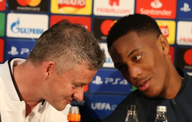 Anthony Martial will speak to Manchester United manager Ole Gunnar Solskjaer this week