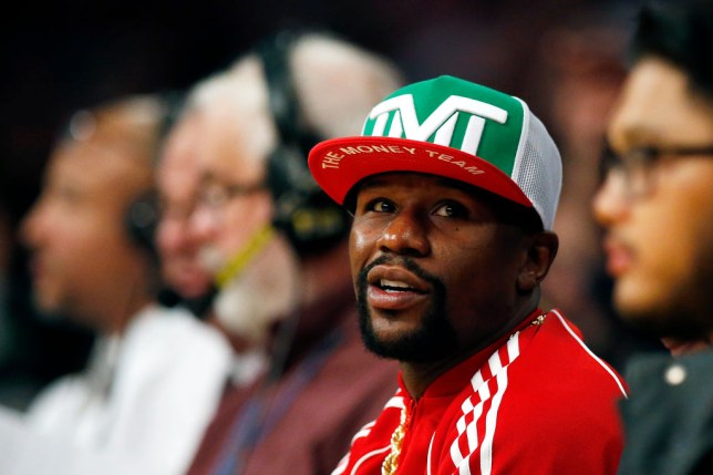 Floyd Mayweather attended Manny Pacquiao's last fight