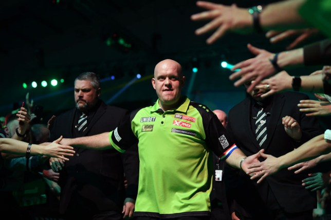 Michael van Gerwen and Gary Anderson in ProTour action this weekend but James Wade absent