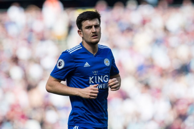 Harry Maguire wants to leave Leicester City after a bid from Manchester United
