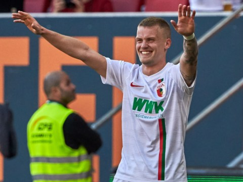 Liverpool considering transfer move for Augsburg left-back Philipp Max