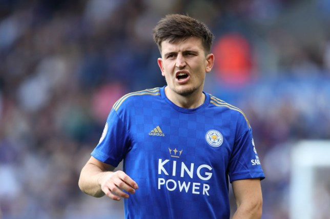 Manchester United have made an improved offer for Leicester's Harry Maguire