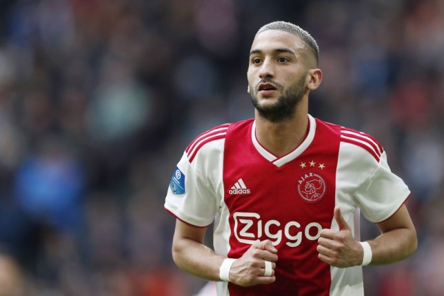 Hakim Ziyech has been linked with a move to Arsenal after starring for Ajax last season