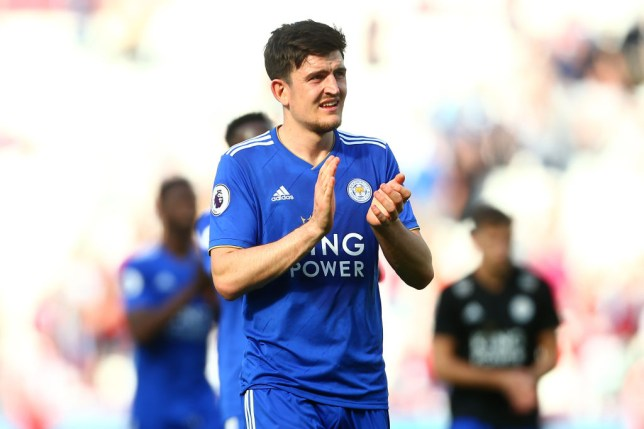 Harry Maguire has told Leicester he wants to leave (Picture :Getty)