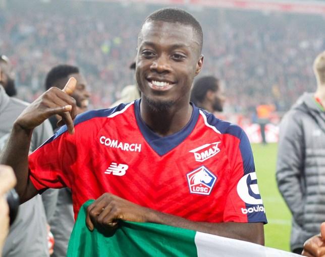 half off 2e6a9 2cd7f Lille president reveals Arsenal's transfer fee for Nicolas ...