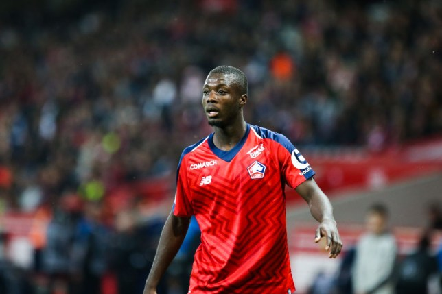 Everton are interested in signing Nicolas Pepe