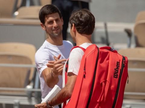 Roger Federer still hasn't arranged meeting with Novak Djokovic amid political 'chaos'