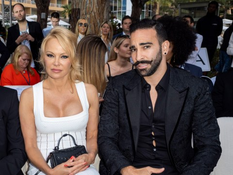 Pamela Anderson's ex Adil Rami denies abuse claims after she brands him a 'monster'