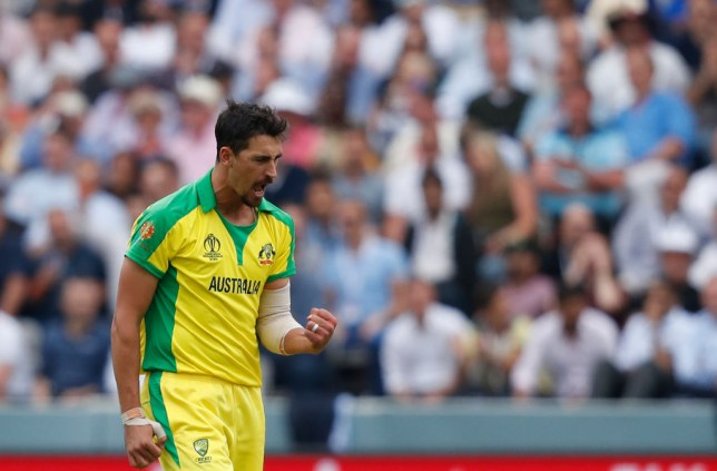 Mitchell Starc has been one of the stars of the Cricket World Cup