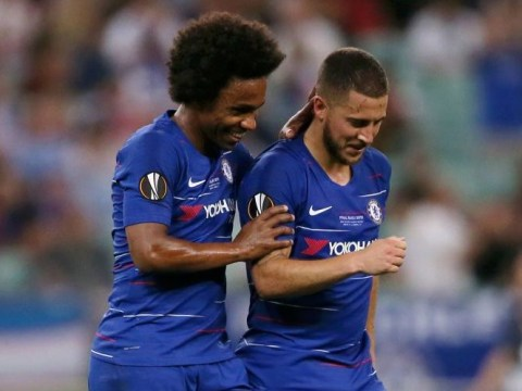 Willian claims Chelsea have offered him Eden Hazard's No.10 shirt