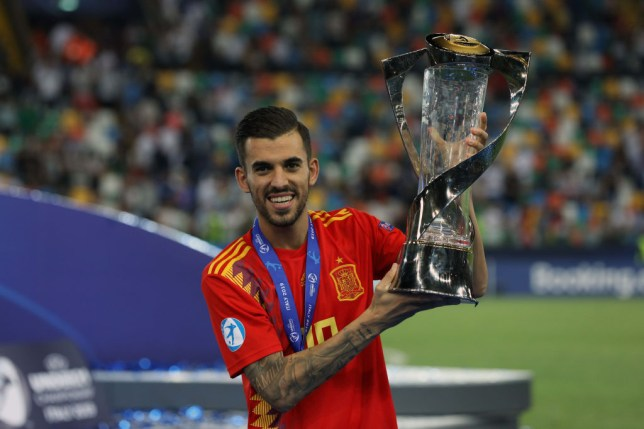 Dani Ceballos won the U21 European Championships with Spain