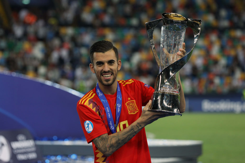 Dani Ceballos won a U21 European Championships with Spain