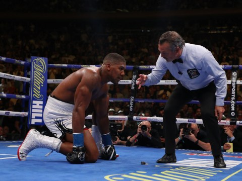 Anthony Joshua's trainer Robert McCracken 'knew he was concussed' during Andy Ruiz fight