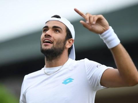 Matteo Berrettini using Novak Djokovic strategy coach to plot Roger Federer's Wimbledon downfall