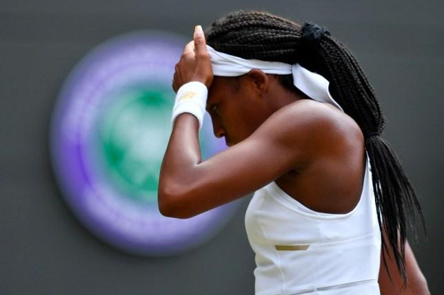 15-year-old Coco Cauff's Wimbledon run finally ended by Simona Halep