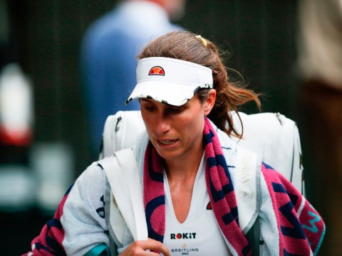 Johanna Konta accuses journalist of 'picking on her' in tense press conference after Wimbledon exit