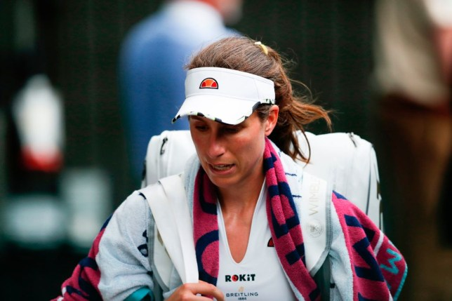 Johanna Konta accuses journalist of 'picking on her' in tetchy press conference