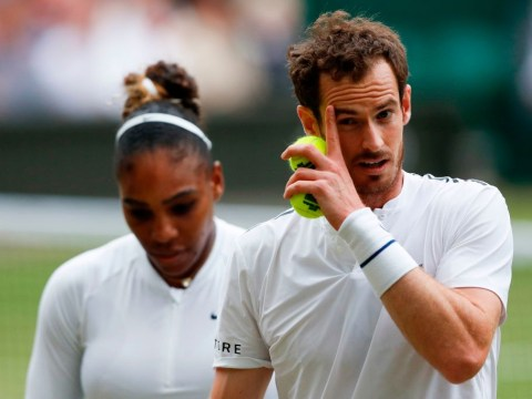Serena Williams and Andy Murray crash out of Wimbledon mixed doubles against No.1 seeds