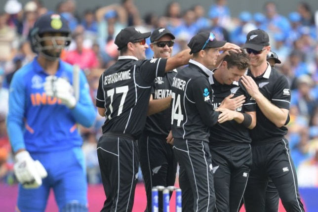 New Zealand stunned India to reach the Cricket World Cup final