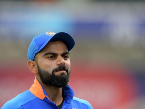 Virat Kohli reacts to India's shock World Cup semi-final defeat to New Zealand