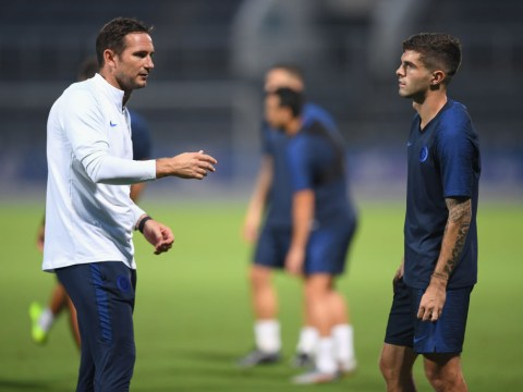 Christian Pulisic explains how he will replace Eden Hazard at Chelsea and why working with Frank Lampard is 'amazing'