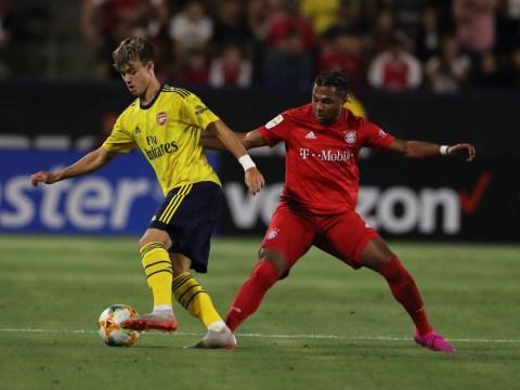 Unai Emery thanks Freddie Ljunberg for recommending Arsenal youngster Robbie Burton