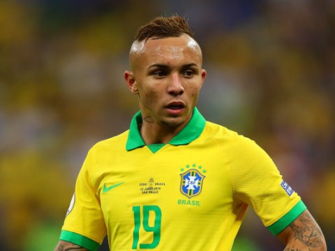 Brazil star Everton drops Arsenal transfer hint ahead of potential £36m move