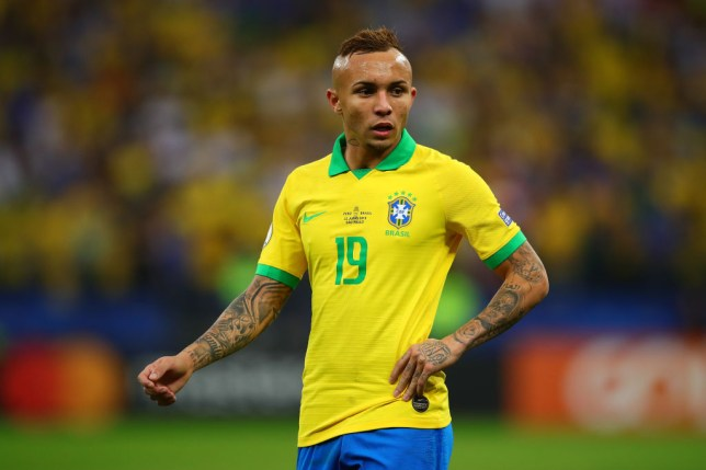 Brazil winger Everton could be heading to Arsenal