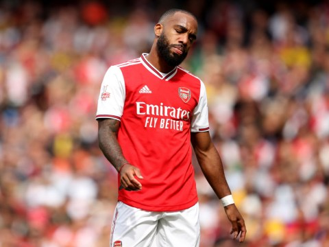 Unai Emery provides update as Alexandre Lacazette limps out of Emirates in protective boot