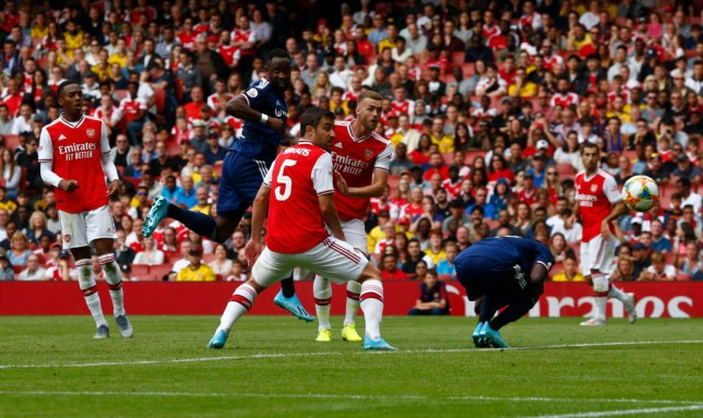 Moussa Dembele scored two second half goals to help Lyon win the Emirates Cup at Arsenal's expense