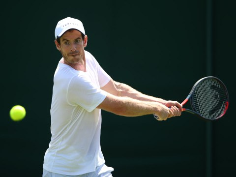 When is Andy Murray back in action at Wimbledon for the doubles tournament?