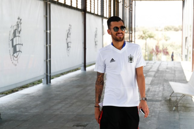 Dani Ceballos impressed for Spain at the U21 European Championship