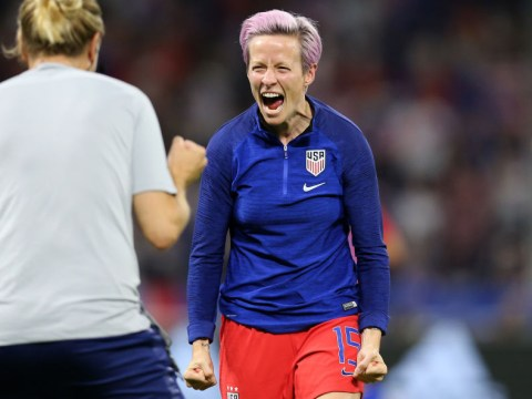 USA star Megan Rapinoe missed semi-final against England with hamstring injury