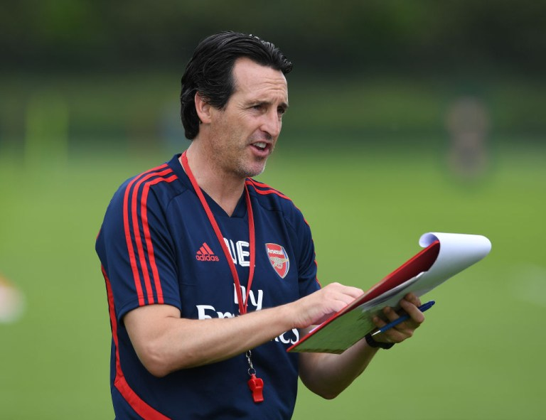 Unai Emery is keen to strengthen his Arsenal squad