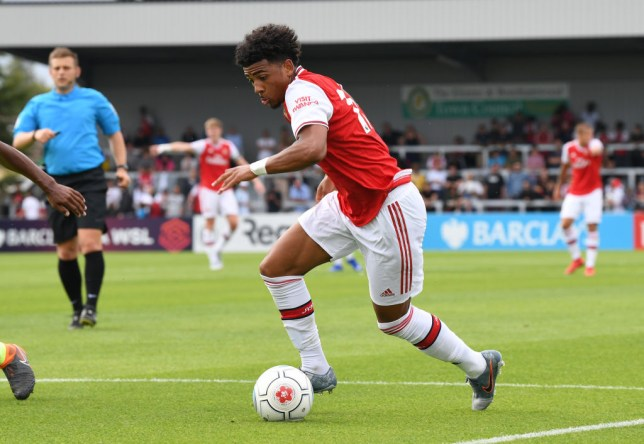Xavier Amaechi has not been included in Arsenal's squad for the pre-season tour of America