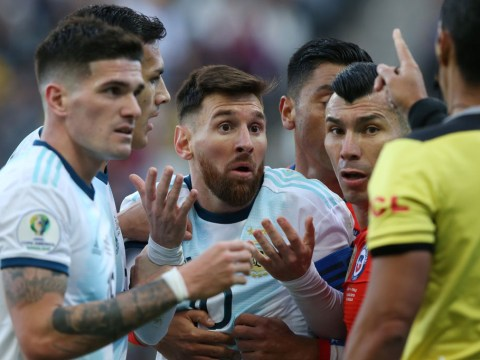 Lionel Messi blames Copa America 'corruption' after red card against Chile