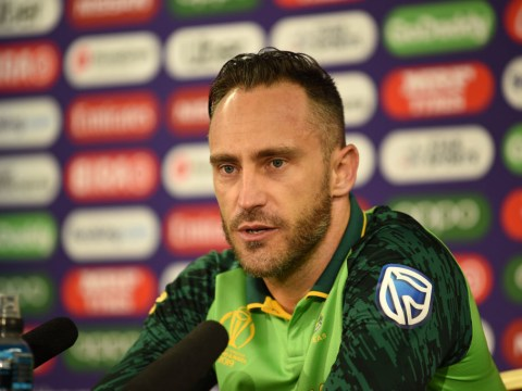 South Africa captain Faf du Plessis predicts who will win World Cup ahead of semi-finals