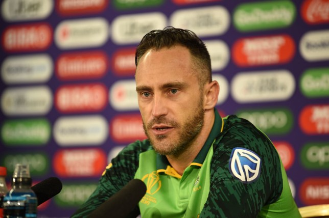 Faf Du Plessis has predicted who will win the 2019 Cricket World Cup