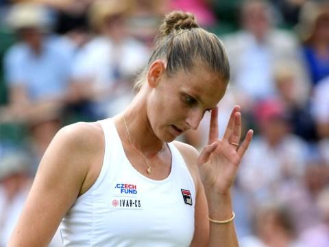 Karolina Pliskova reacts to shock Wimbledon exit to compatriot Karolina Muchova