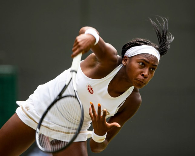 Coco Gauff shot to fame at Wimbledon earlier this month when she knocked out Venus Williams