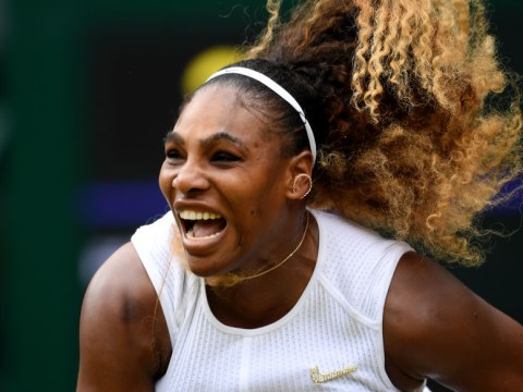 Serena Williams reacts to $10,000 fine for damaging Wimbledon court