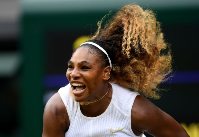 Serena Williams reacts to $10,000 fine for damaging Wimbledon match court