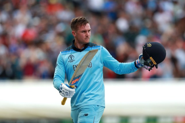 Jason Roy sent England into the Cricket World Cup final