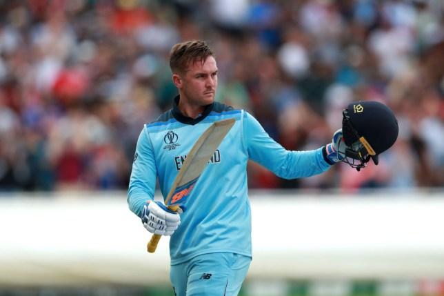 Jason Roy sent England into the Cricket World Cup final