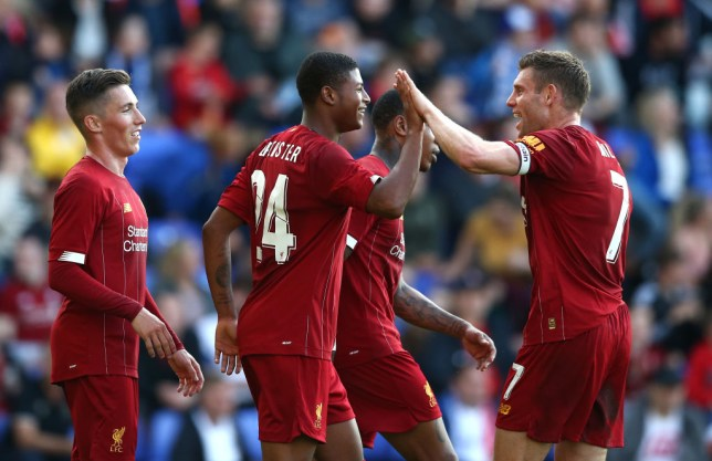 Rhian Brewster scored twice as Liverpool thrashed Tranmere Rovers