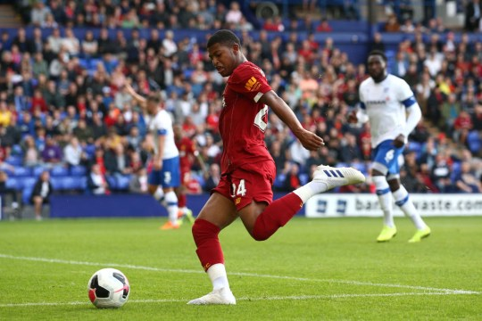 Jurgen Klopp has predicted big things for Rhian Brewster at Anfield
