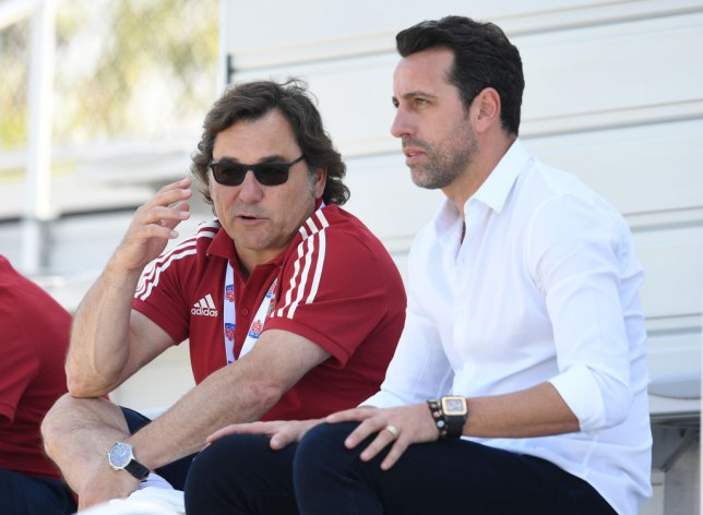 Raul Sanllehi is back in the UK