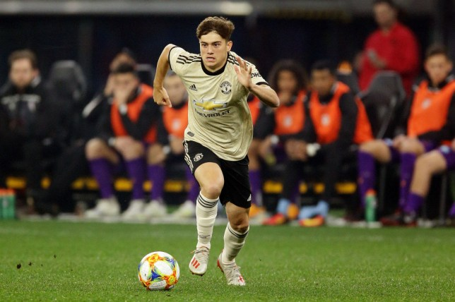 Daniel James impressed on his Manchester United debut (Picture: Getty)